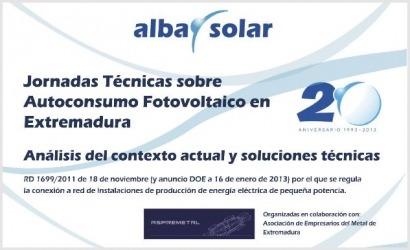 El autoconsumo FV tiene se da cita en Badajoz