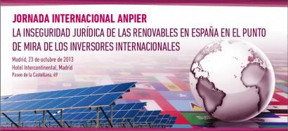 España, un paraíso, vedado, para la inversión en renovables