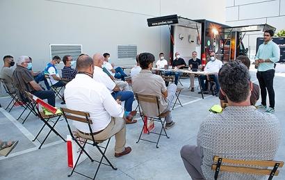 GoodWe, K2 Systems y TSC, protagonistas del truckshow de Krannich Solar