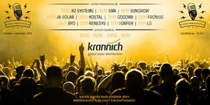 Krannich Webinar Festival: las mejores actuaciones hasta el 19 de noviembre
