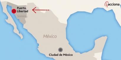 Acciona anuncia el inicio de la construcción de la planta fotovoltaica Puerto Libertad, en México, que tendrá 404 MW