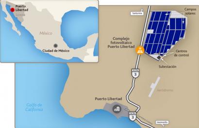MÉXICO: Planta fotovoltaica Puerto Libertad: La china JA Solar proveerá 404 MW en módulos solares