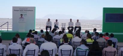 La planta fotovoltaica Villanueva, que tendrá 754 MW instalados, ya opera al 40% de capacidad