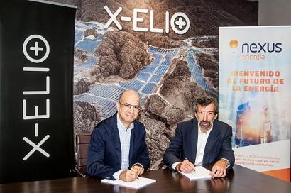 X-ELIO firma un PPA con Nexus Energía para dos plantas fotovoltaicas en España