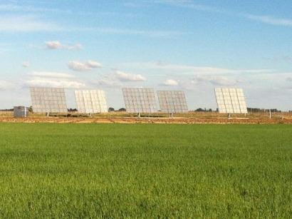 La Mancha conecta una planta experimental de concentración fotovoltaica