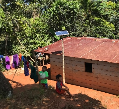 PANAMÁ: Un proyecto de Acciona proporciona luz a partir de fotovoltaica a más de dos mil personas
