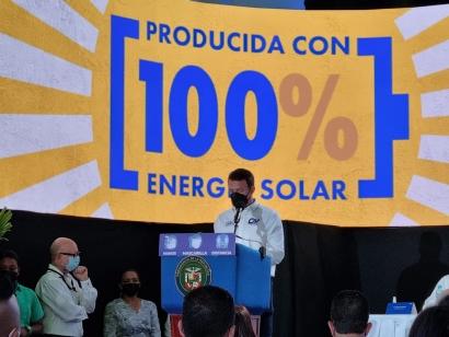 Inauguran la planta fotovoltaica Pesé Solar, de 14 MW, que abastecerá 100 % la producción de una empresa cervecera