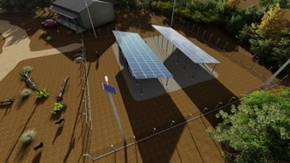 Itaipú instala los mayores parques fotovoltaicos del país