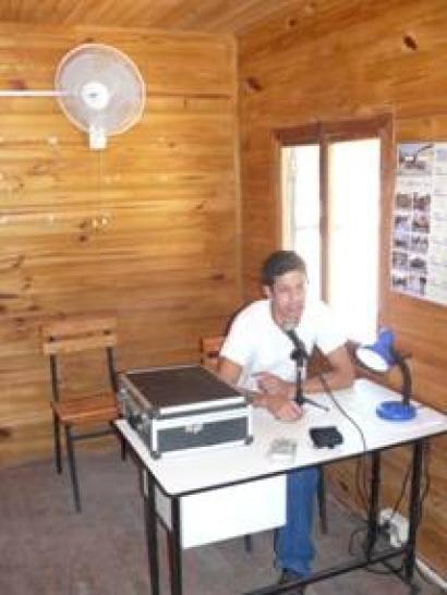Una radio indígena fotovoltaica