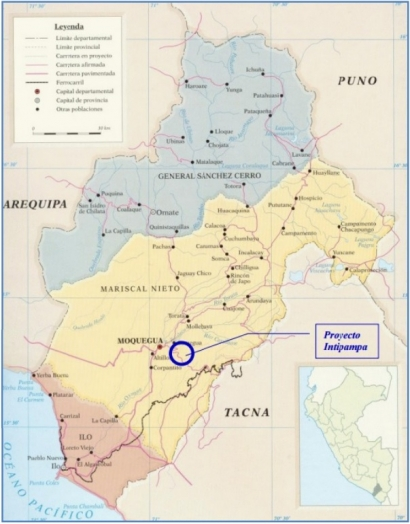 PERÚ: Moquegua: Inauguran la planta solar Intipampa, de 40 MW, la segunda más grande del país