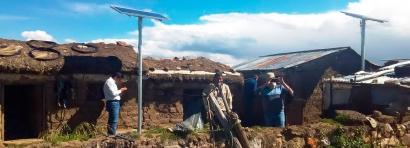 Instalan 6.000 paneles fotovoltaicos en zonas rurales