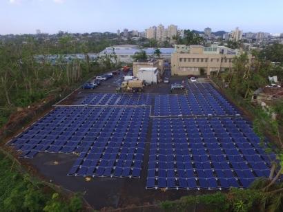 PUERTO RICO: San Juan: Tesla instala su primer sistema fotovoltaico y de almacenamiento en el Hospital del Niño