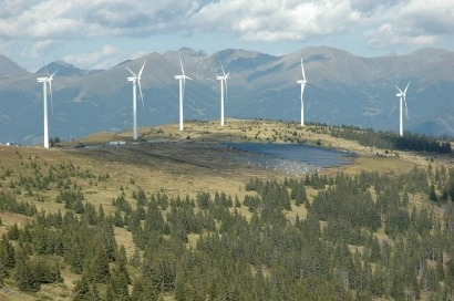Austria conecta el parque solar más alto de Europa