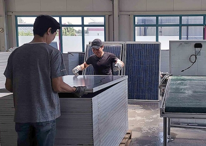 Pamplona contará a finales de año con un centro de fabricación, reparación y reciclaje de paneles