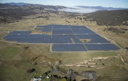 FRV vende el campo solar de Royalla en Australia