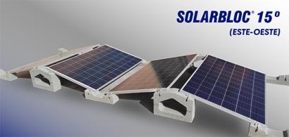 Solarbloc Este-Oeste 15º, el nuevo estándar para autoconsumo