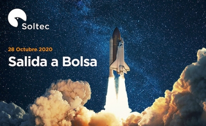Soltec se estrena hoy en Bolsa a 4,82 euros por acción
