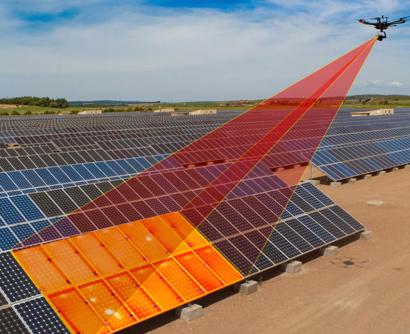 TSO recurre a los drones para optimizar y repotenciar plantas solares