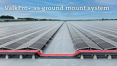 Valk Solar lanza el nuevo sistema de montaje fotovoltaico sobre suelo ValkPro+