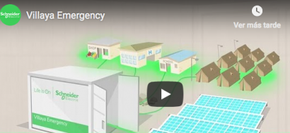 Presentan una microrred para situaciones de emergencia lista para operar en 30 minutos