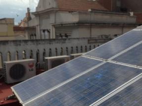 Primera campaña colectiva para la reparación de una planta solar