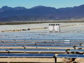 Salta: En operaciones la planta fotovoltaica Cafayate, de 100,1 MWp, la más grande del país