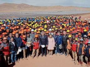 Las fases II y III del parque fotovoltaico Cauchari, cerca de poner en operaciones más de 200 MW