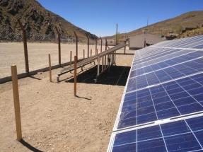 Jujuy: Inauguran la planta fotovoltaica con almacenamiento del cuarto pueblo solar del país