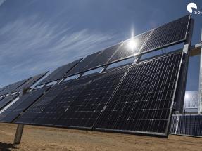 Seguidores solares únicos para una planta fotovoltaica única