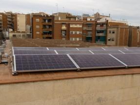 Badalona instala una planta solar para autoconsumo en el Mercado la Salud