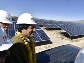 Inauguran una planta fotovoltaica de 5 MW