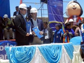Construirán la mayor planta fotovoltaica del país