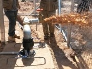 Chaco Boliviano: Instalan un sistema FV de bombeo de agua