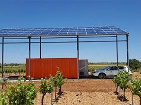 Esta viña se riega con energía solar