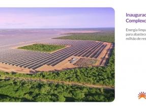 Ceará: Inauguran el complejo fotovoltaico Alex, de 360 MWp