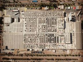 Inauguran la planta fotovoltaica de autoconsumo más grande del país