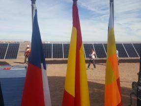 La planta fotovoltaica Granja Solar, de 123 MW, instala los primeros paneles de Solarpack