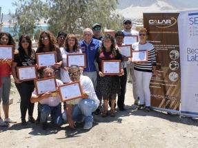 Atacama: Un programa permite a los habitantes de pueblos aislados aprender a instalar y mantener sus propios paneles fotovoltaicos