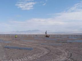 Antofagasta: Más de 100 MW de seguidores bifaciales para una planta fotovoltaica