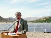 Inauguran Tambo Real, la primera planta fotovoltaica conectada a red
