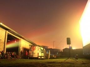 Ecocinema, cine itinerante, gratuito y fotovoltaico