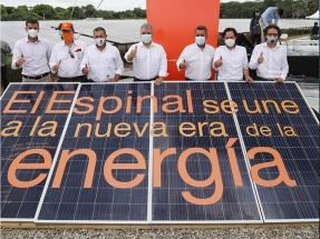 Tolima: Inauguran la planta fotovoltaica El Espinal, de 9,9 MW