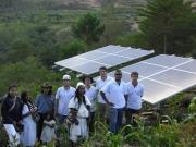 Fotovoltaica para el centro asistencial de la etnia arhuaca