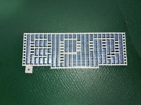 Instalan una planta piloto fotovoltaica flotante en el embalse El Peñol