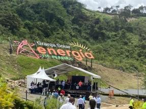 """Pereira: En operaciones una planta fotovoltaica de 6 MW, la primera del """"Eje Cafetero"""""""