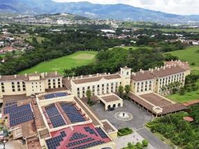 La cadena hotelera Marriott instala un sistema fotovoltaico con almacenamiento en Hacienda Belén