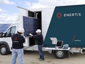 65.000 paneles bifaciales del parque fotovoltaico La Sierpe, de 26 MWp, supervisados por Enertis