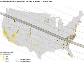 Cómo afectará a las instalaciones fotovoltaicas el eclipse solar del lunes próximo