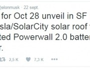 En un mes, sale a la cancha el techo solar de Tesla y SolarCity