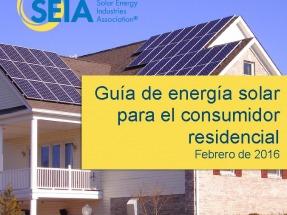 La Asociación Solar presenta una guía para el consumidor hogareño de energía fotovoltaica